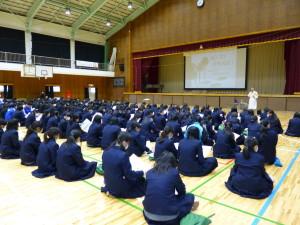 岩井中学校薬物乱用教室