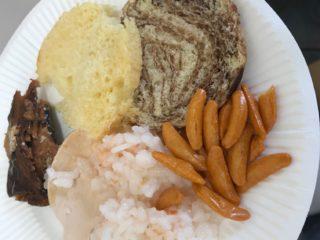 宇宙食にみる体に必要な栄養素と宇宙食材を使った試食会で試食